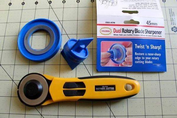 Dritz Dual Rotary Blade Sharpener