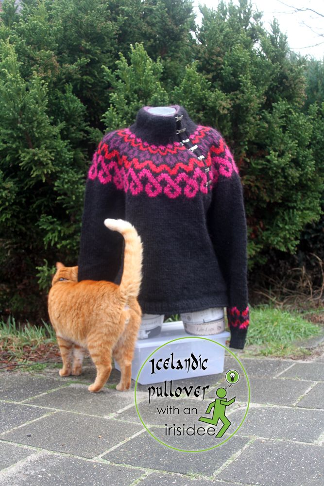 IJslandse trui ★ Icelandic pullover | Because knitting is such a fun hobby!