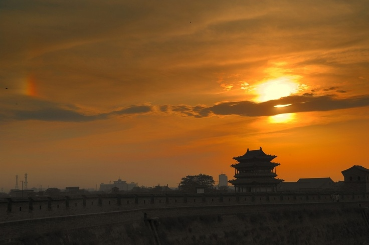 Pingyao is located in the southwest of Taiyuan as well as in the east of Fen River, which is 616 kilometers (383 miles) from Beijing City