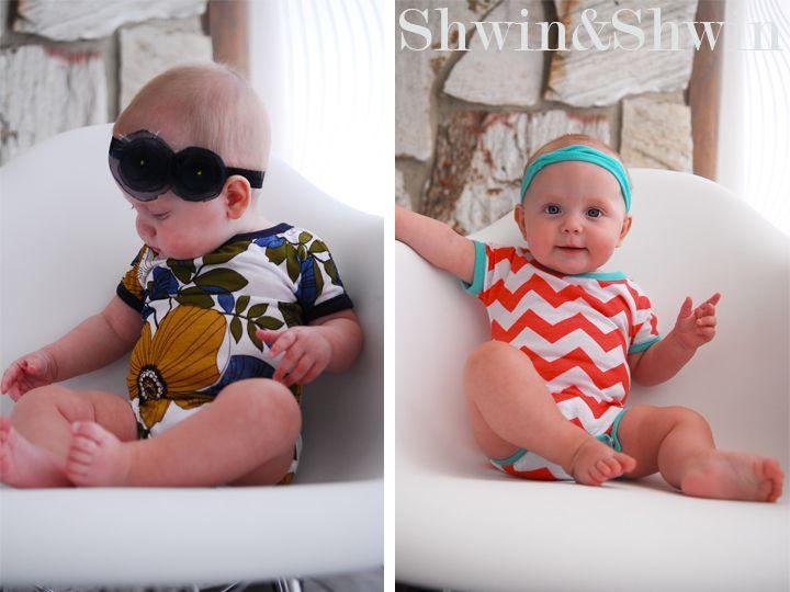 Baby Ringer Onesie || Modèle gratuit || Shwin et Shwin