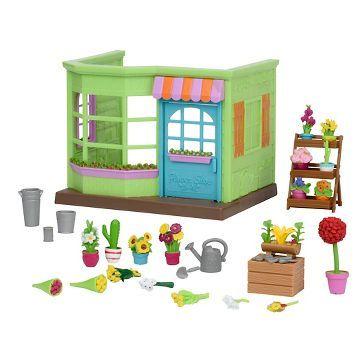 Li'l Woodzeez Mini Rooms - Flower Shop