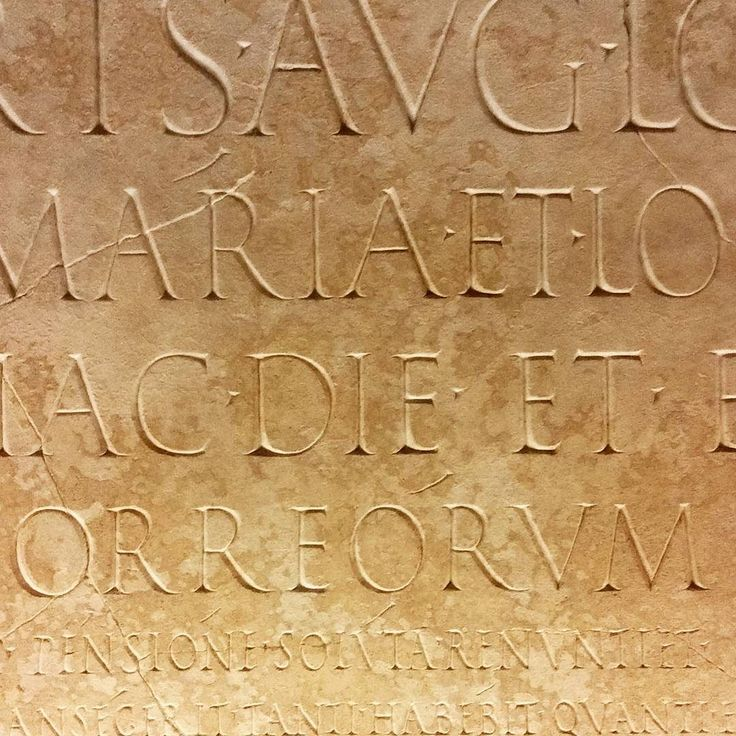 #enduringdesign : First century AD stonercarvers rocking slick graphic design  #badpun #classicdesign #graphics #typography #stone #classic at #museicapitolini