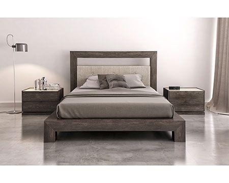 Keep it simple with this zen-ful birch bedroom set. #bedroom #birch #zen #modern