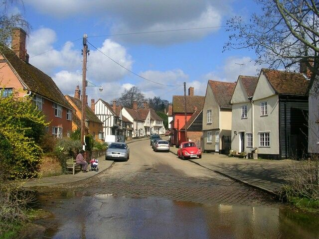 The Village of Kersey, Suffolk
