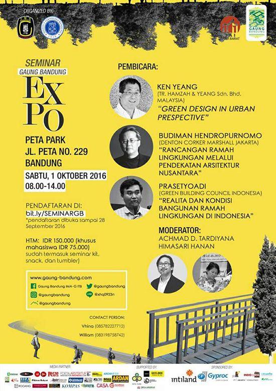 Seminar Gaung Bandung Expo ~ Teknologi Konstruksi Arsitektur