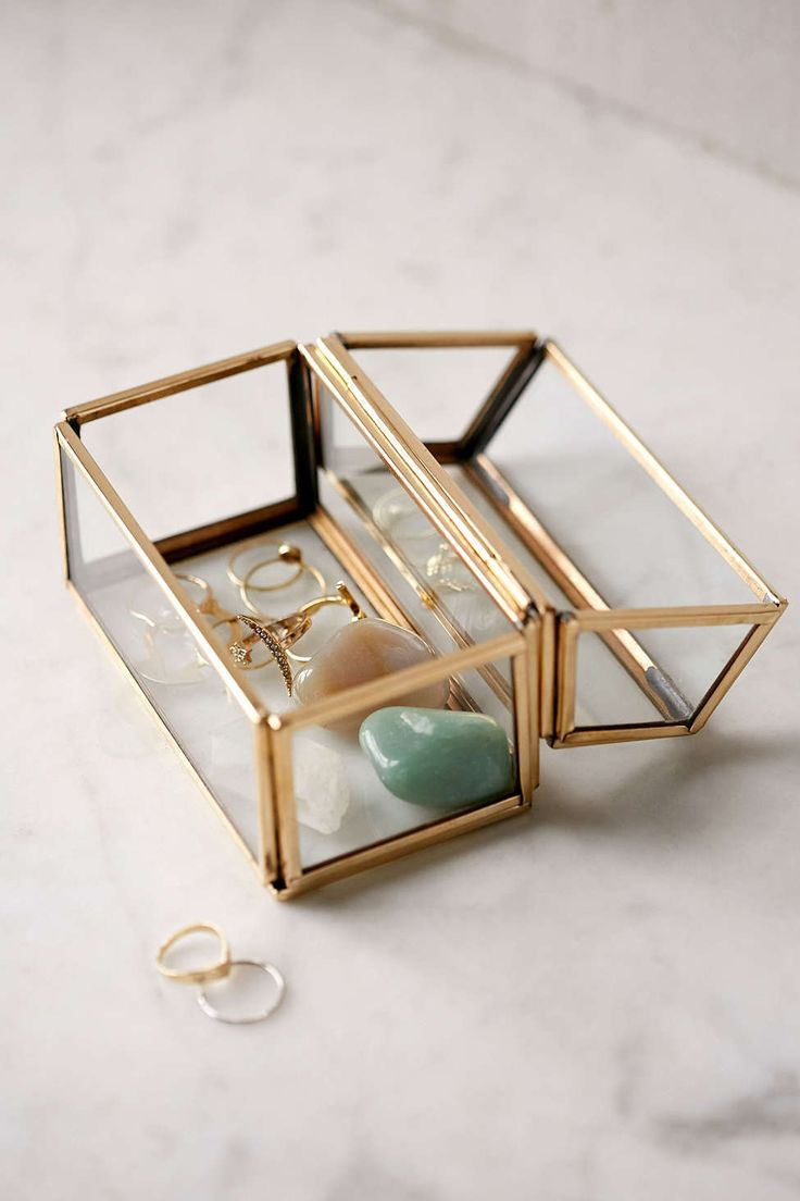 Glass Treasure Box - Urban Outfitters