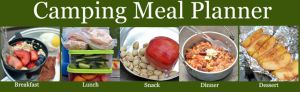 Stay Healthy while Camping with Meal Plan, Recipes, and Shopping List! | Healthy Ideas for Kids