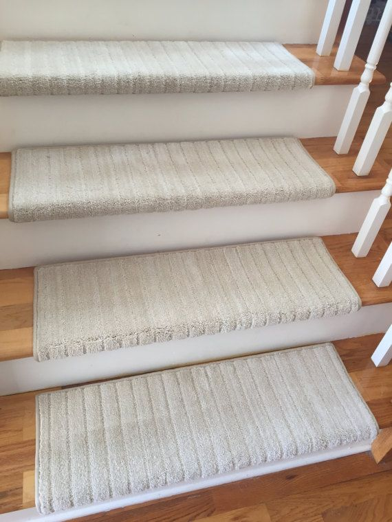TRUE Bullnose™ Carpet Stair Tread Mulberry by BullnoseStairTreads