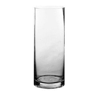"""Clear Glass Cylinder Vase<br>5"""" Wide x 18"""" Tall with 4.5"""" Opening"""