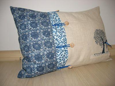 Aleksa handmade: Льняные подушки