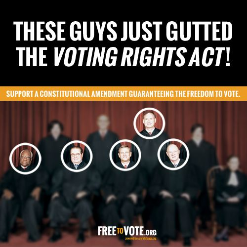 SCOTUS Overrides Federal Law: The 1965 Voting Rights Act Under Review