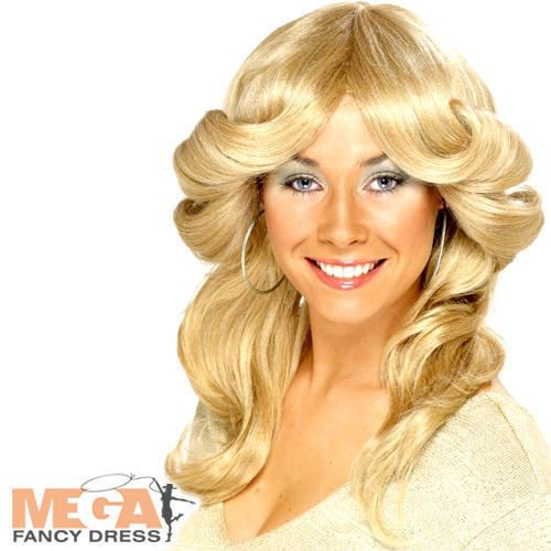 Peruca Loira Flick Disco Abba Fancy Dress Charlies Angels Década De 1970 Fantasia Acessório | Roupas, calçados e acessórios, Fantasias e roupas de figurino, Fantasias | eBay!