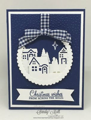 Creative Inking Blog Hop - see our Holiday Must-Haves!  Hearts Come Home - created by Sandy Mott, The Scrap n' Stamp Shop