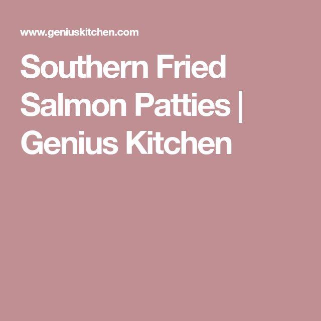 Southern Fried Salmon Patties | Genius Kitchen