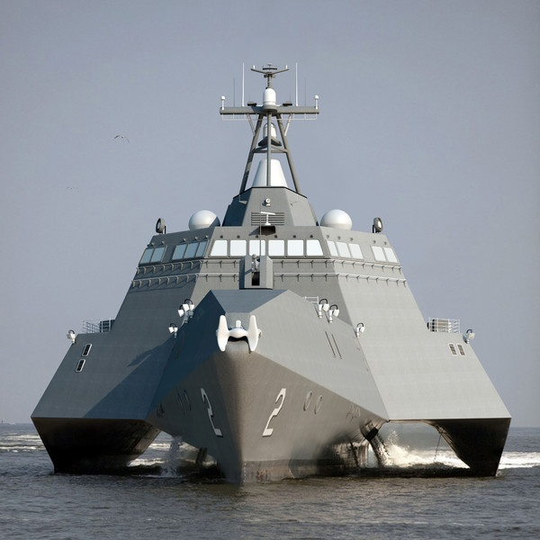 uss independence lcs-2 3d model - USS Independence LCS-2 by 3d_molier