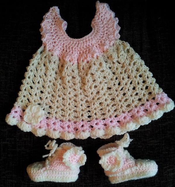 Free Crochet Angel Wing Dress Pattern : Ravelry: Angel Wings Pinafore free pattern by Maxine ...