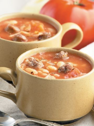 Pumpkin, White Bean And Sausage Stew Recipes — Dishmaps