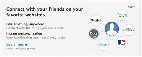 How to Opt Out of Facebook's Instant Personalization.