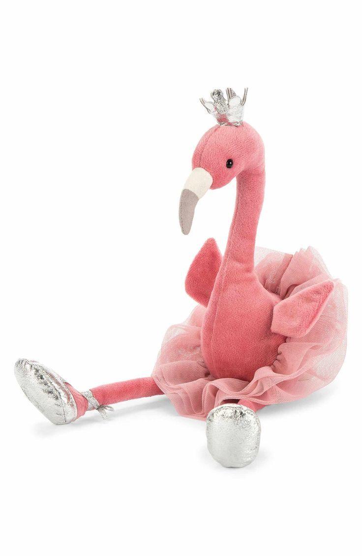 US Cute Flamingo Animal Stuffed Soft Plush Toy Doll Pillow Girls Birthday Gifts