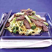 Recept - Teriyaki-biefstuk met noedels - Allerhande