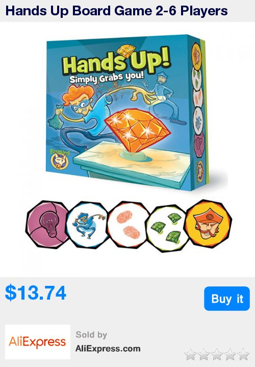 Hands Up Board Game 2-6 Players Family/Party Children With Parents Funny Puzzle Game Environmentally ABS Plastic With Free Ship * Pub Date: 14:44 Jul 5 2017