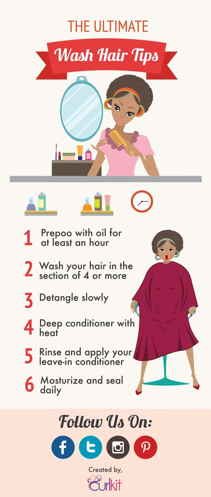 The Ultimate Wash Day CheckList 6 Tip to get you the Wash Day Routines...