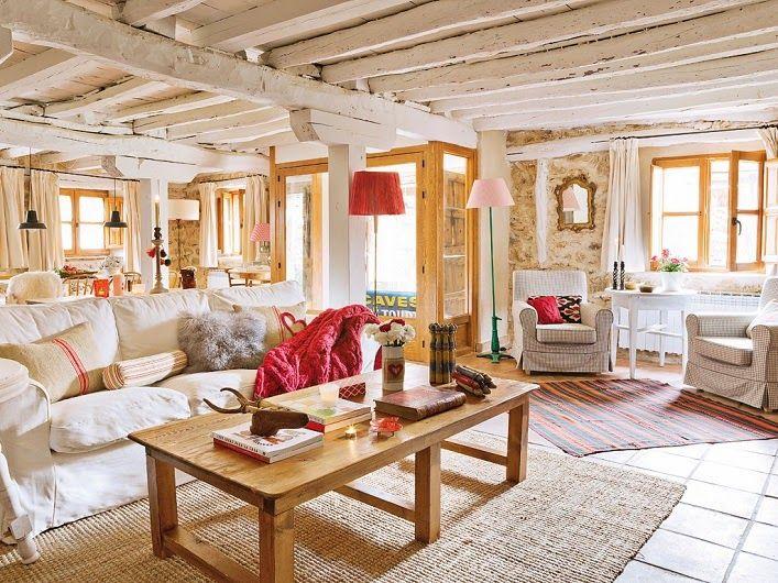 Stone Cottage Interiors 811 best casas de campo images on pinterest | architecture