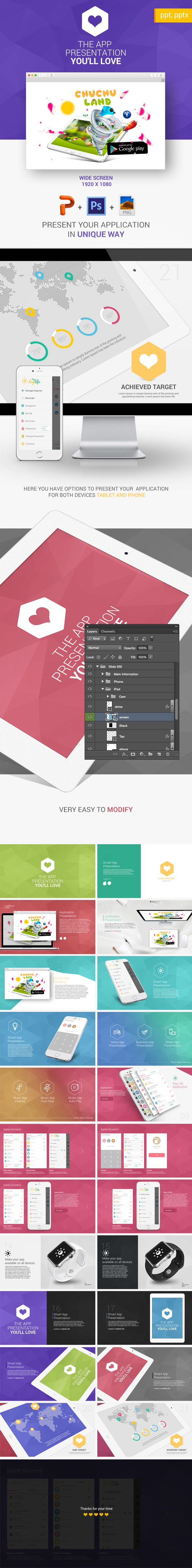 Application PowerPoint Presentation Template #slides Download: http://graphicriver.net/item/application-presentation-ppt/14484031?ref=ksioks