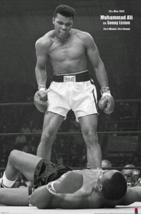 Mohamed Ali combat boxe