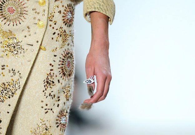 Do you see it? | This New Fur Nail Trend Is Stressing Me The F Out