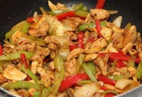 Çin Mutfağı Çin usulü sebzeli tavuk tarifi | Seyahat Defterin