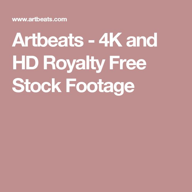Artbeats - 4K and HD Royalty Free Stock Footage