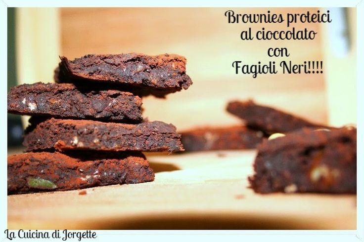 la cucina di jorgette: Brownies Proteici al cioccolato con Fagioli Neri!!...