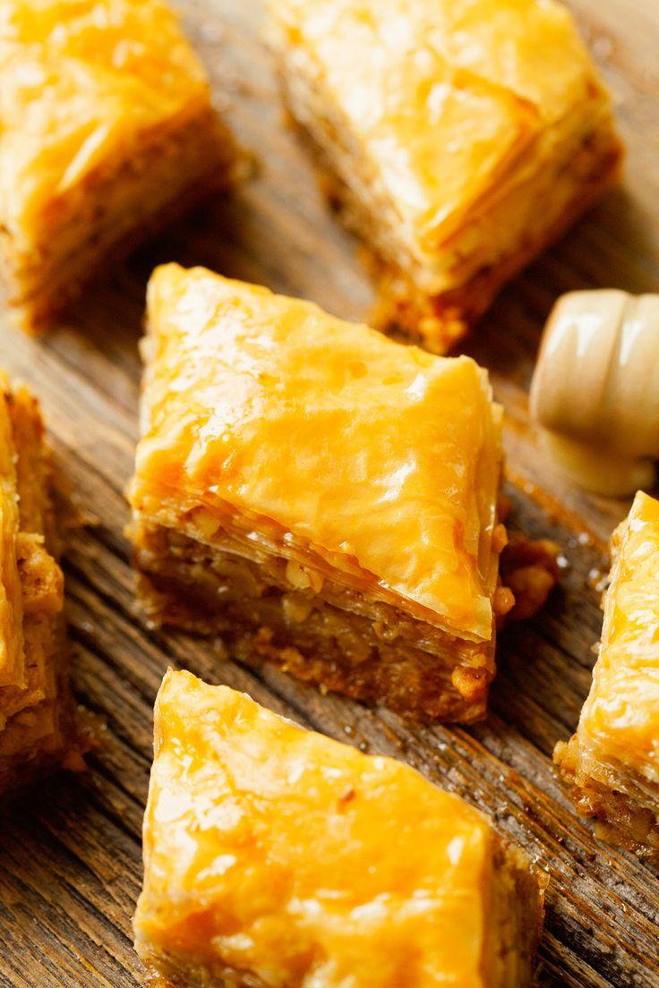 how to make greek dessert baklava