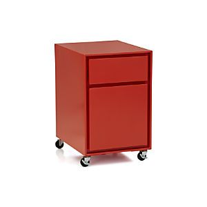 Inspirational Crate and Barrel File Cabinet