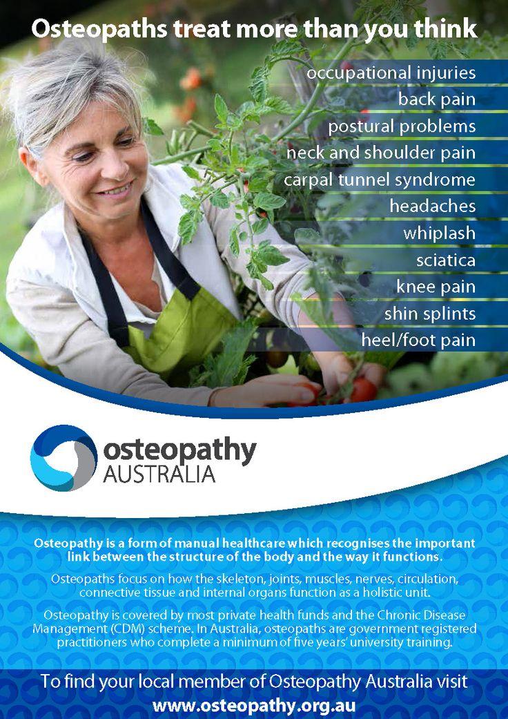 Osteopathic Healthcare Week · Osteopathy Australia
