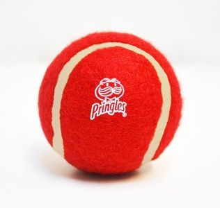 Promotional Red Tennis Balls