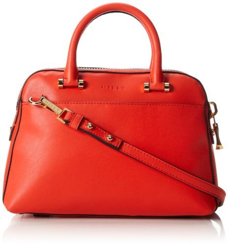 Milly Blake Small Satchel Top Handle Bag Vermillion Hand Bags Pinterest Satchels And Purse