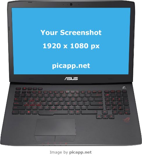 Place your app screenshot in this Asus G751 with just one click with Picapp.net. Your work is done in a few minutes. And then you can download in your pc for free! #nobackground  #mock #asusG751 #gaming