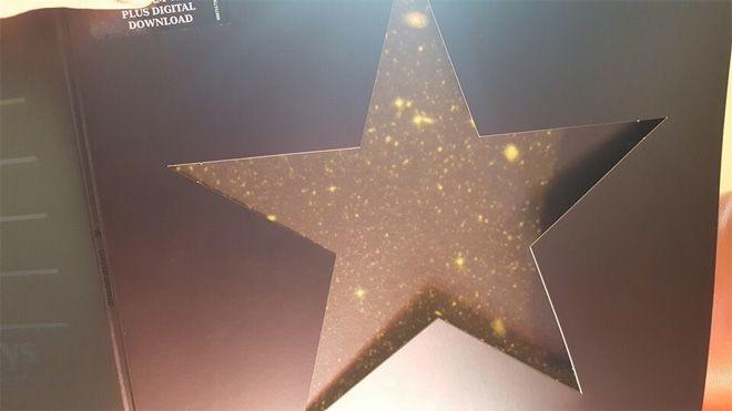 デヴィッド・ボウイからさらなる贈り物、『★』のジャケ写を陽にあてると… | David Bowie | BARKS音楽ニュース