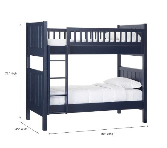 Camp Twin Over Bunk Bed