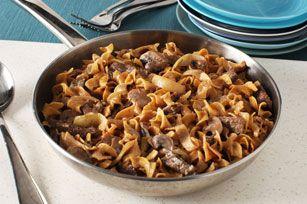 Creamy Beef Stroganoff Recipe - Kraft Recipes