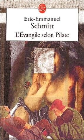 L'Evangile selon Pilate - Journal d'un roman volé par Eric-Emmanuel Schmitt J'adore comme à chaque fois avec cet écrivain-philosophe