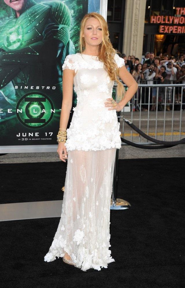 Blake Lively [Green Lantern premiere]