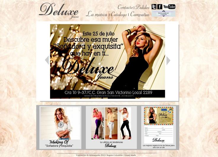 DISEÑO PAGINAS WEB MODA.   Diseñador . Gio otavo / Agencia / Visual moda