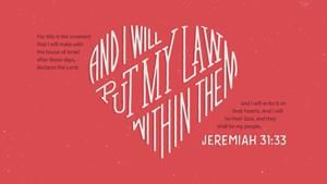 Jeremiah 31:33 Hello Mornings Verse