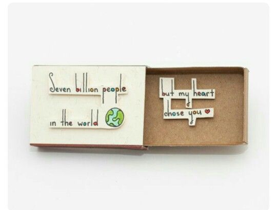 Love Miniature Matchbox Craft @ Rs. 149