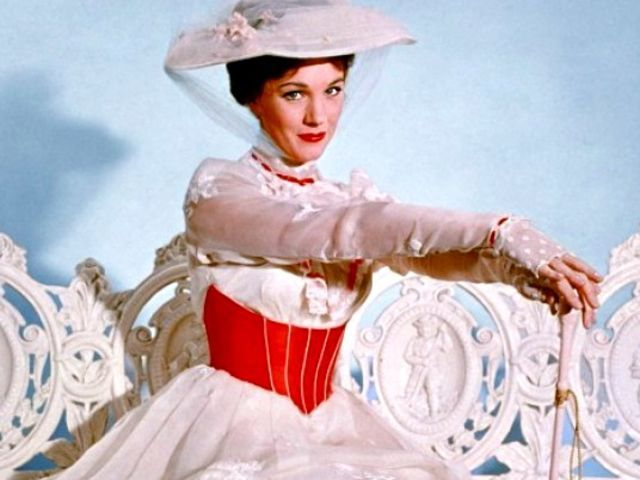 I got: Mary Poppins ! Which Julie Andrews  movie character are you