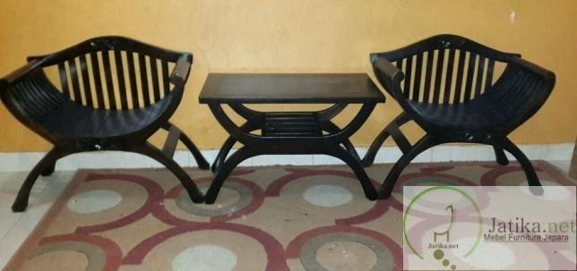 Harga dari Kursi Teras Jati Yuyu ini kami bandrol dengan harga yang bersahabat dan pas dikantong anda yaitu dengan harga Rp 1.400.000.