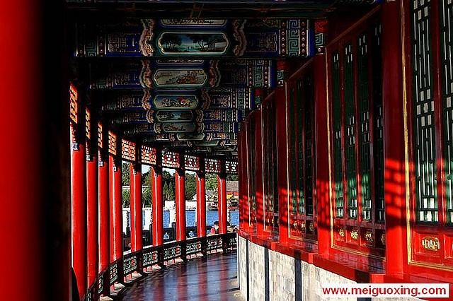 Chinese architecture in Beihai Park